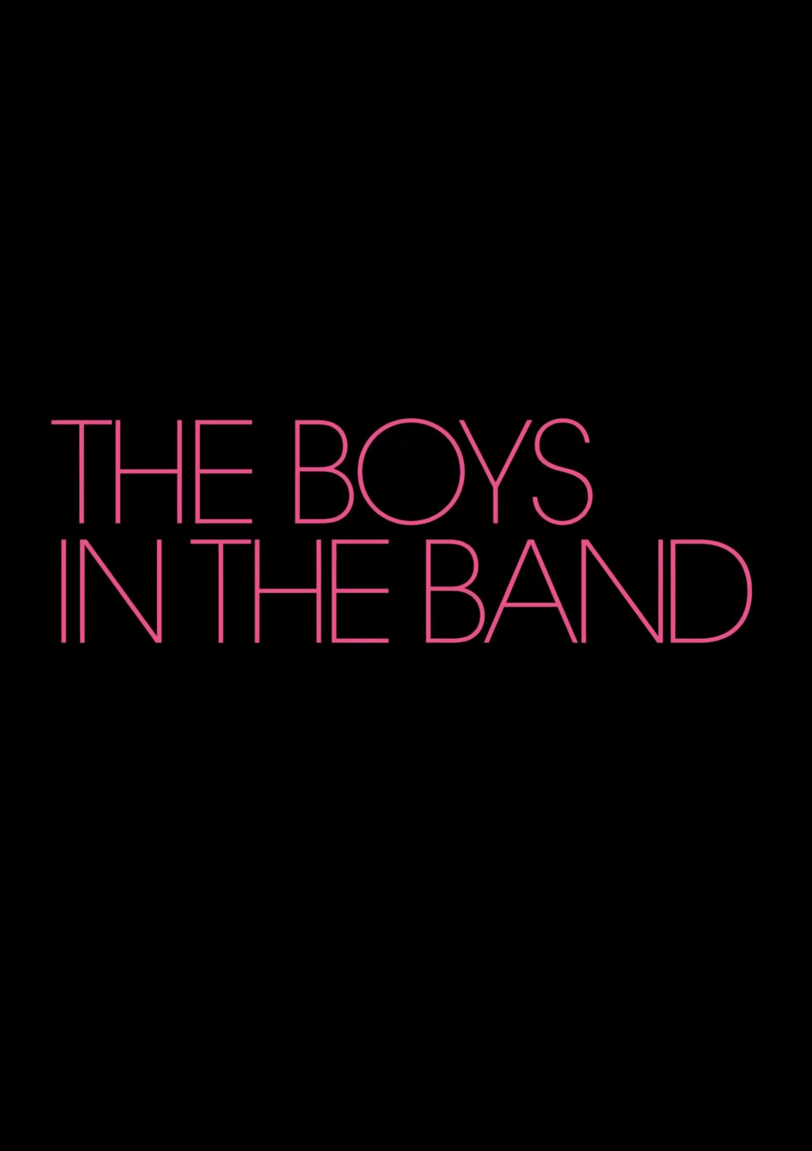 The Boys in the Band Poster #1