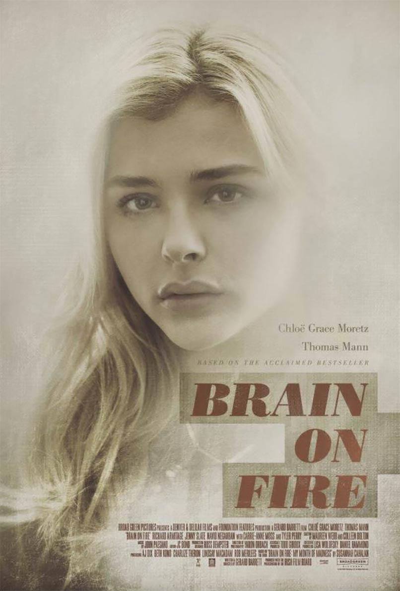 Brain on Fire Poster #1