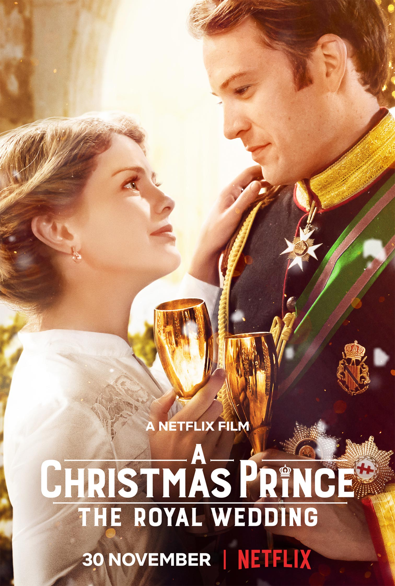 A Christmas Prince: The Royal Wedding Poster #1