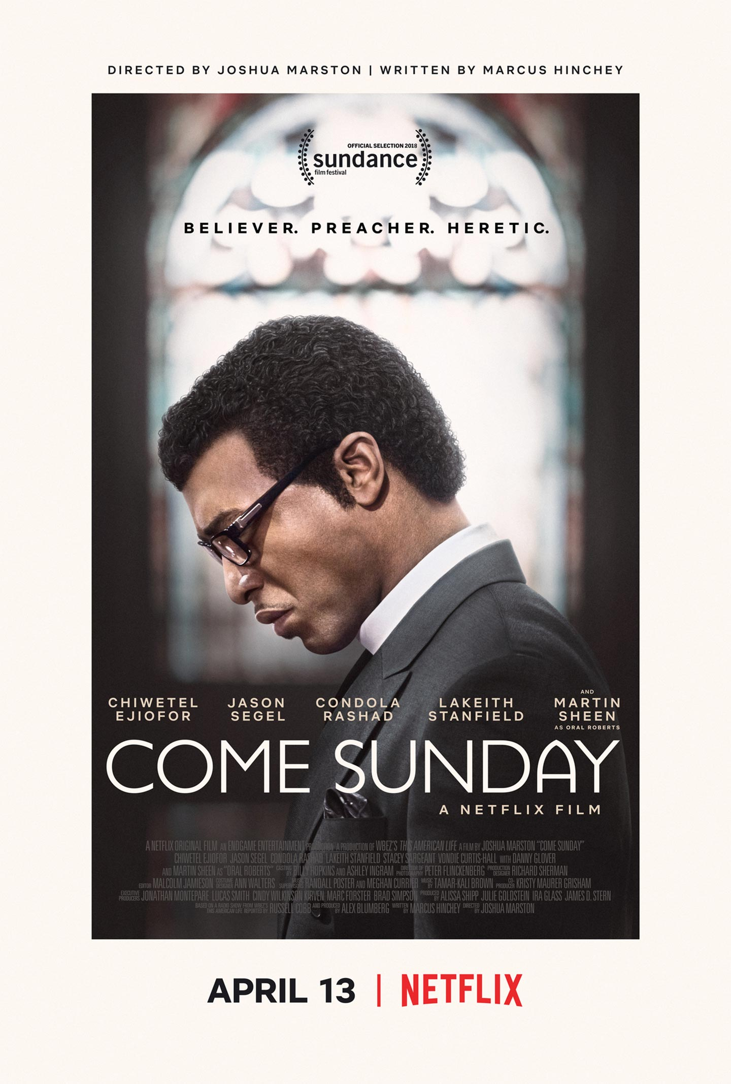 Come Sunday Poster #1