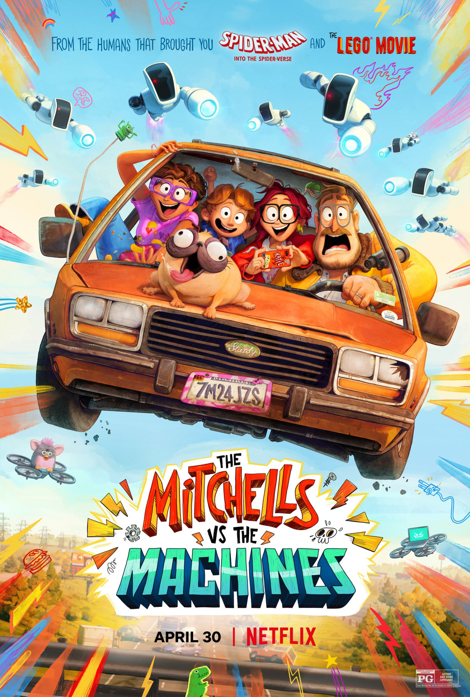 The Mitchells vs. The Machines Poster #2