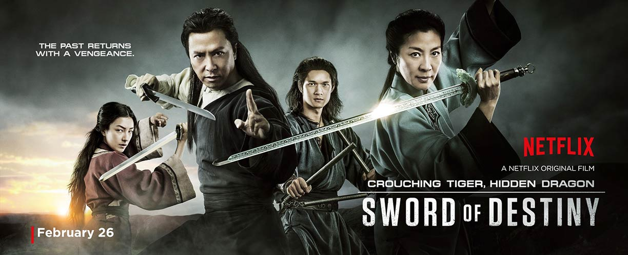 Crouching Tiger, Hidden Dragon: Sword of Destiny Poster #2