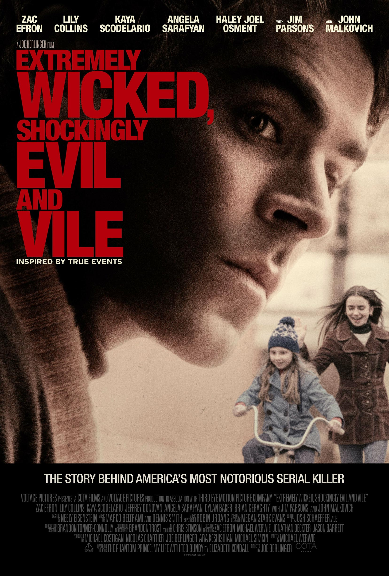 Extremely Wicked, Shockingly Evil and Vile Poster #1