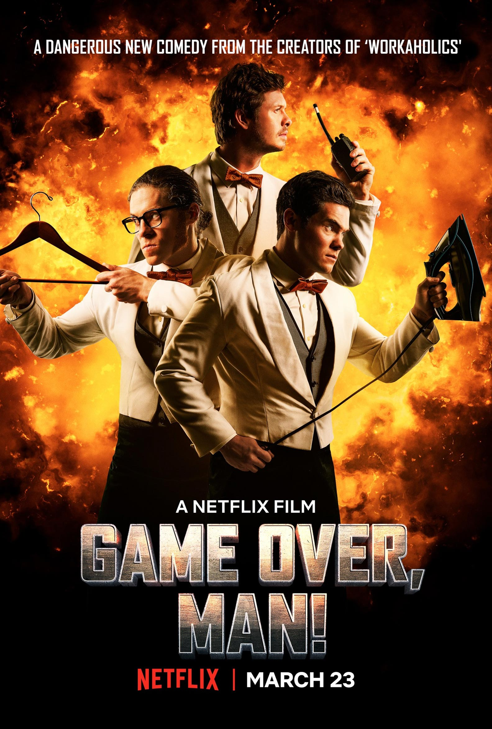 Game Over, Man! Poster #1