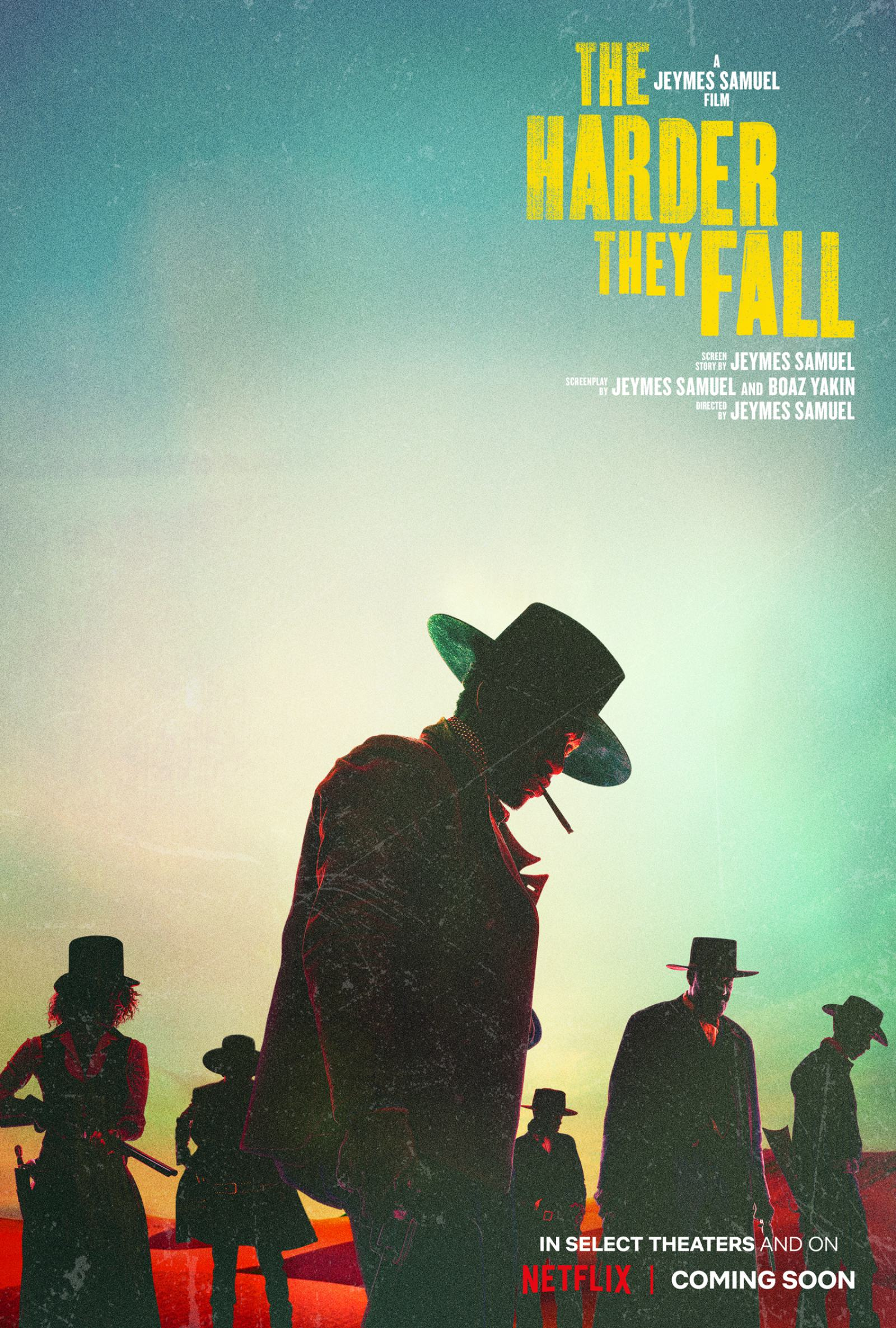 The Harder They Fall Poster #1