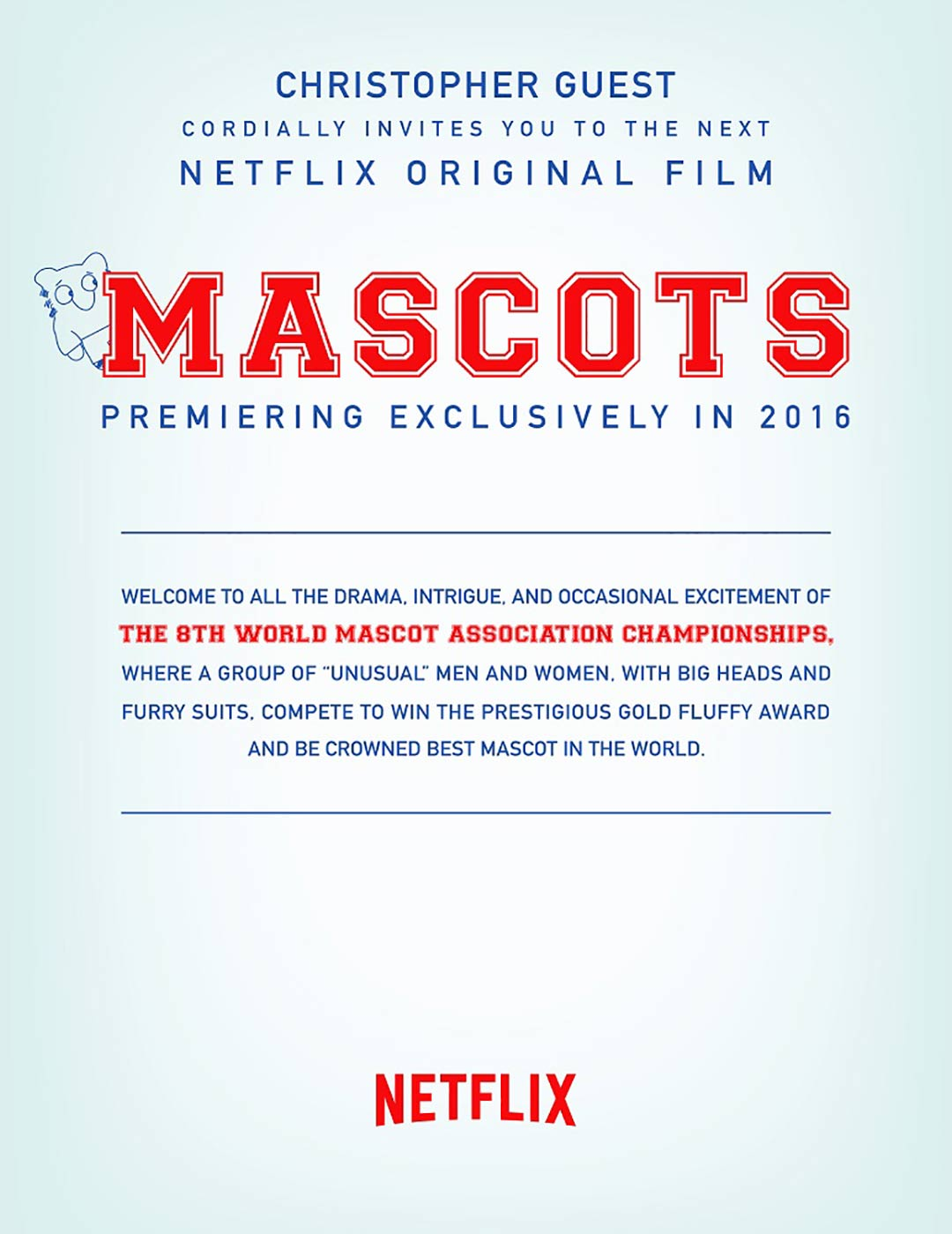 Mascots Poster #1