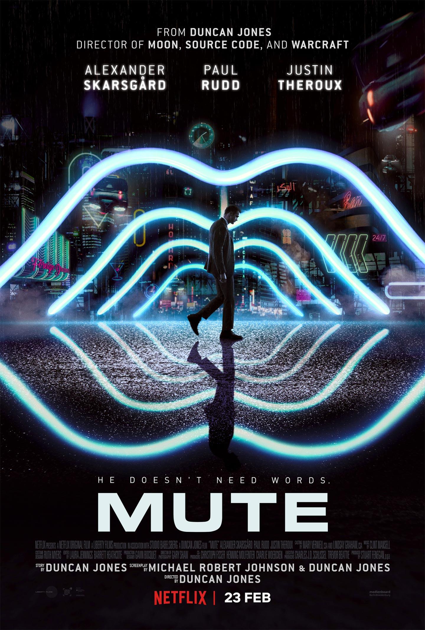Mute (Netflix) Mute-poster