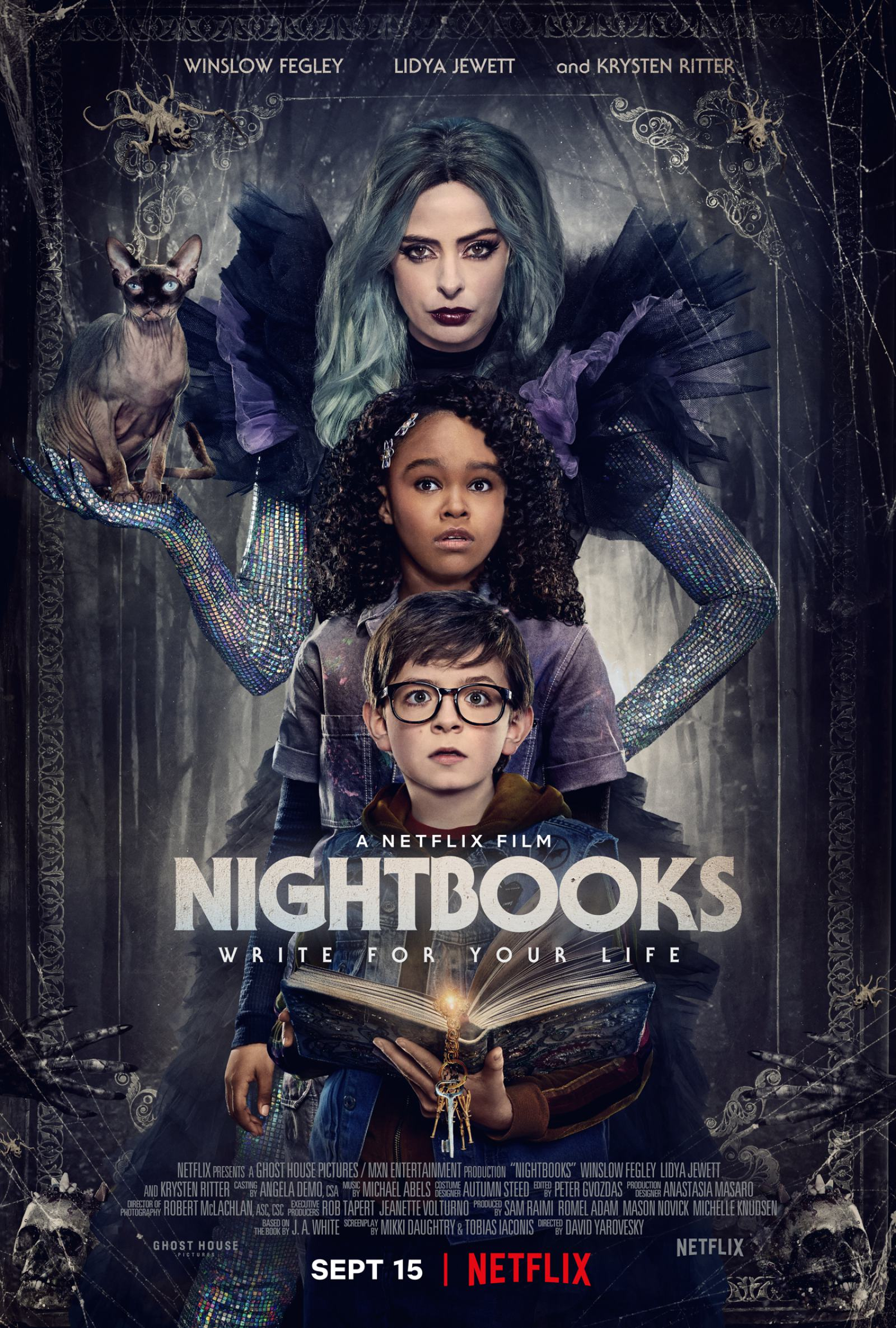Nightbooks Poster #1