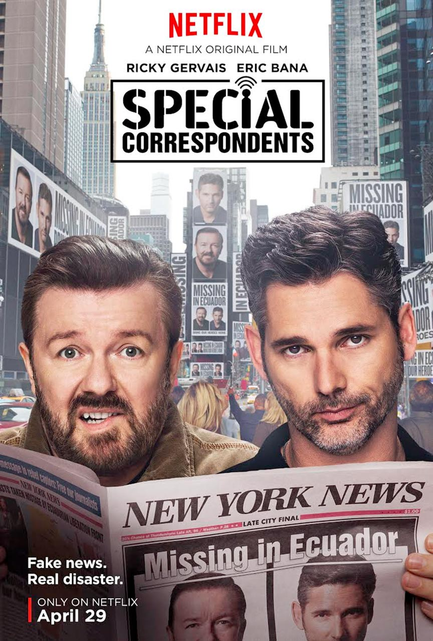 Special Correspondents Poster #1