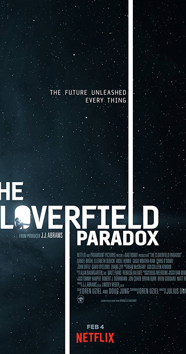 The Cloverfield Paradox Poster #1