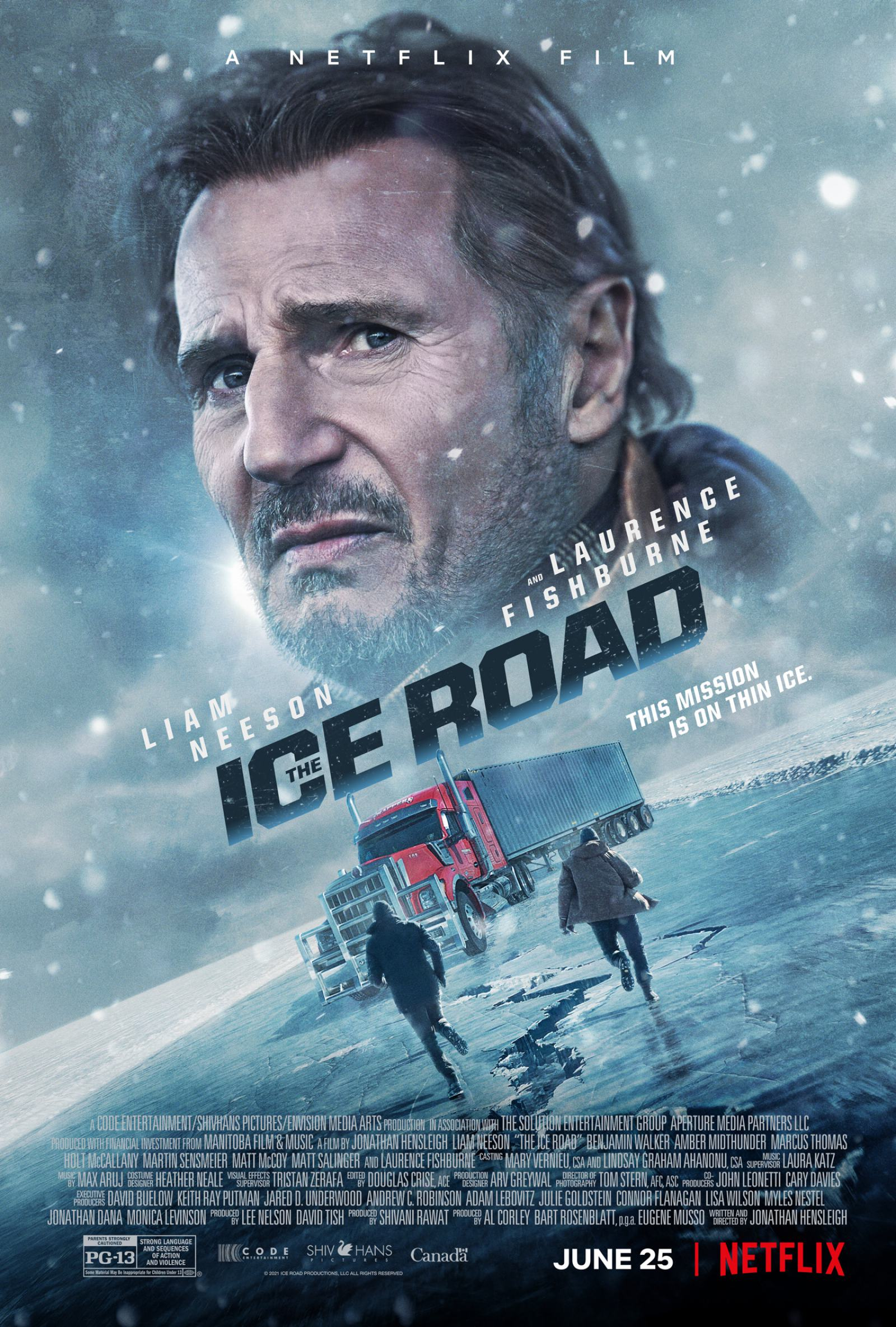 The Ice Road Poster #1