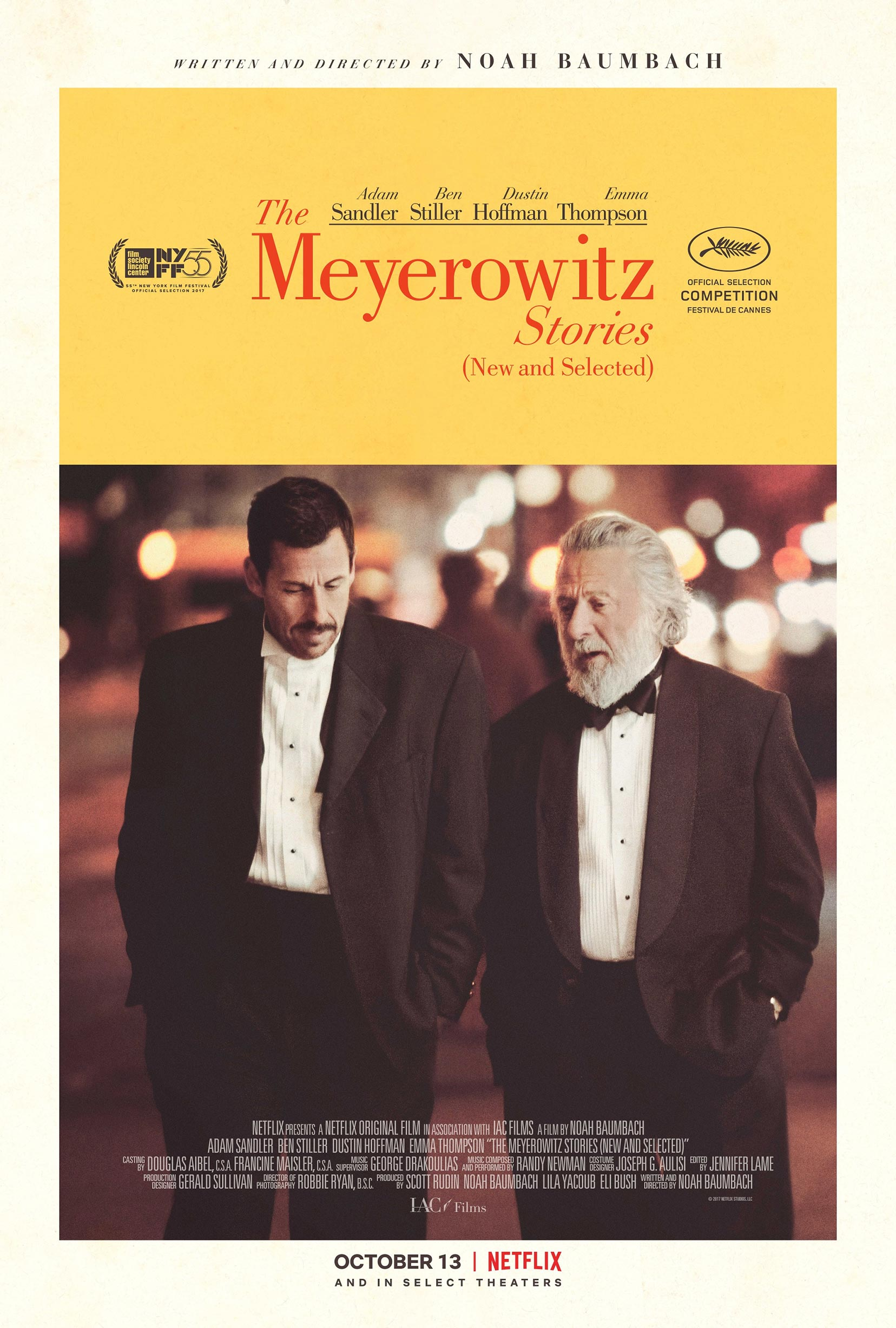 The Meyerowitz Stories (New and Selected) Poster #2