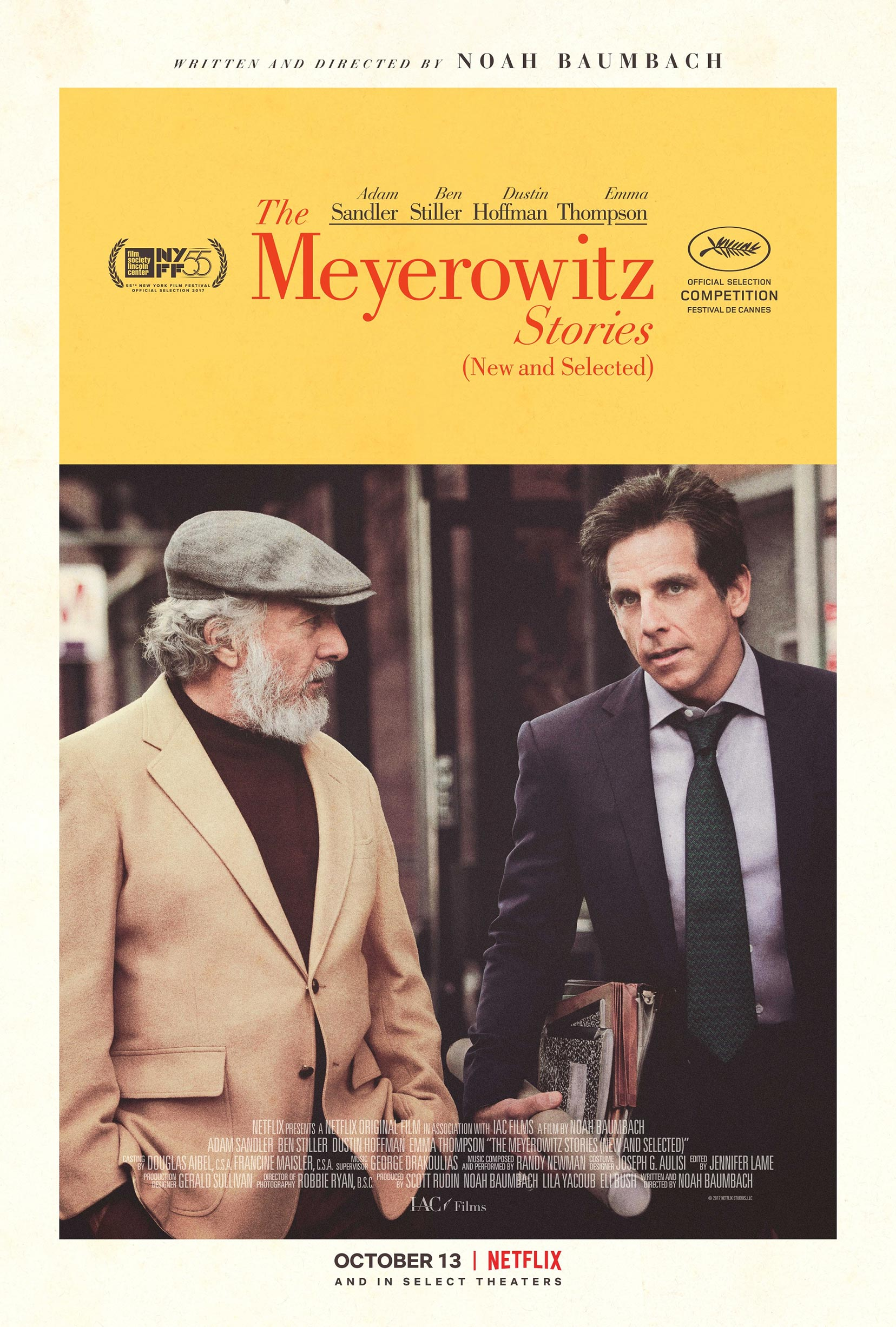 The Meyerowitz Stories (New and Selected) Poster #3