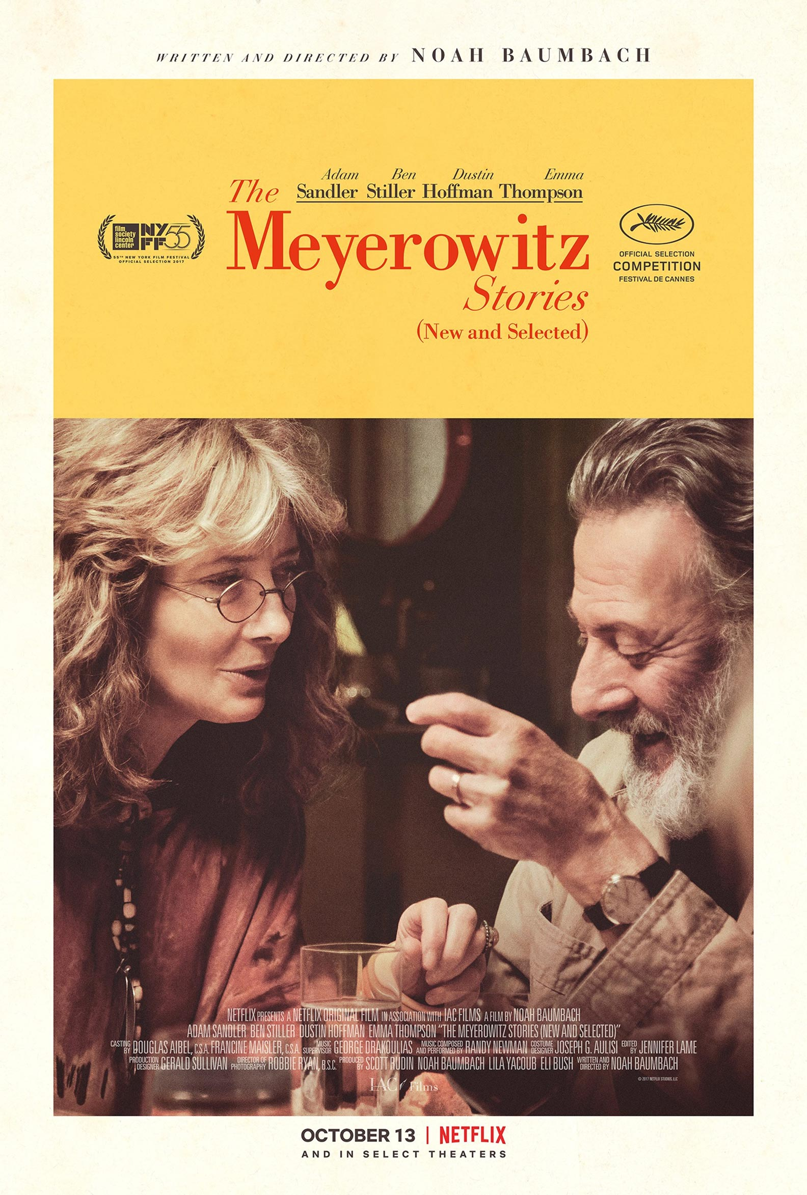 The Meyerowitz Stories (New and Selected) Poster #4