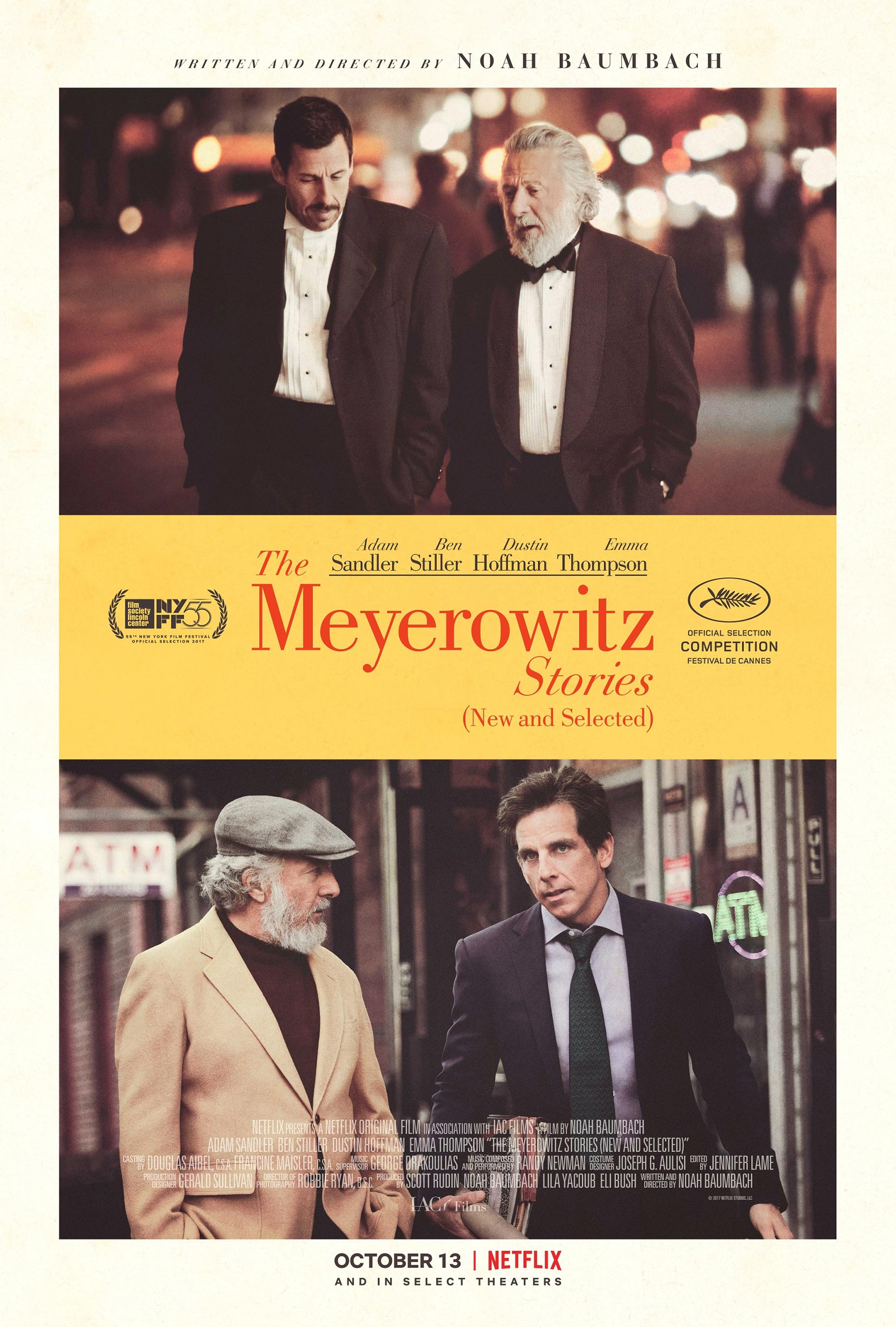 The Meyerowitz Stories (New and Selected) Poster #1