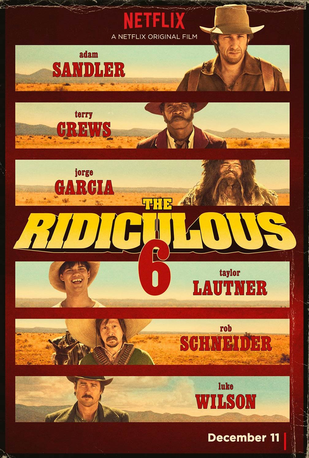 The Ridiculous 6 Poster #1