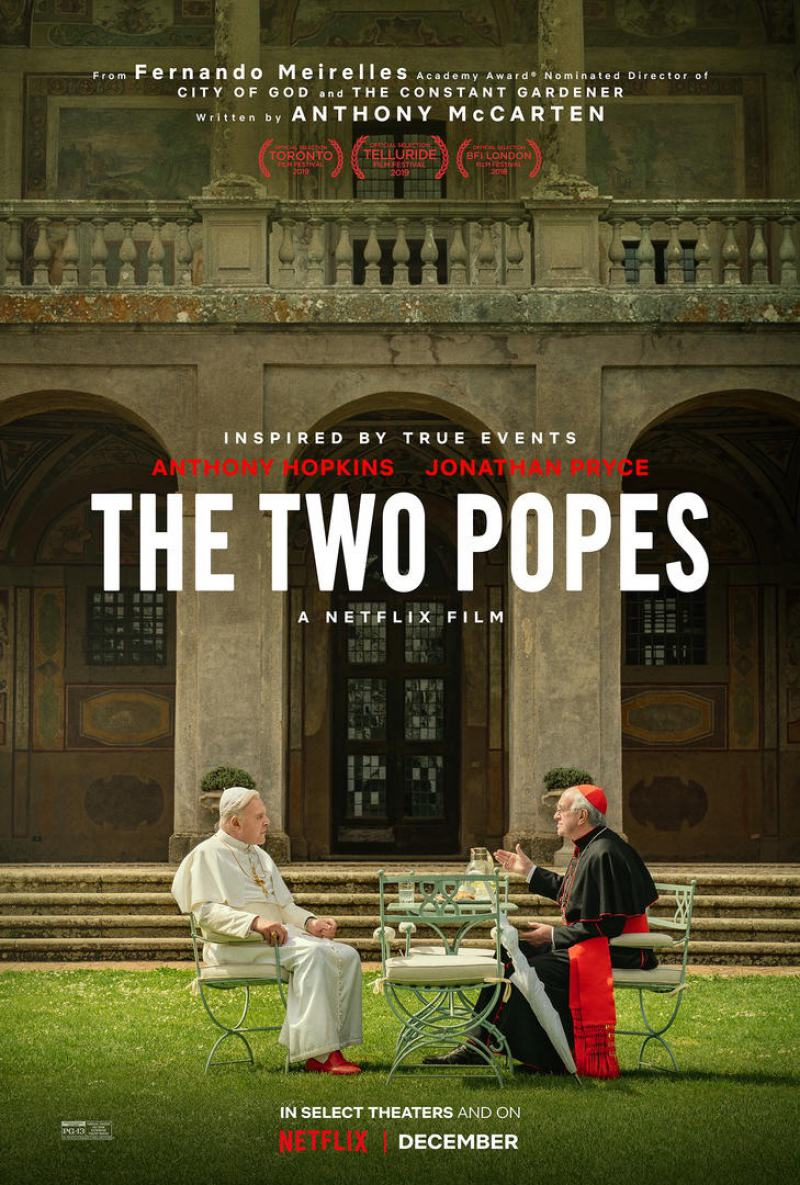The Two Popes Poster #1