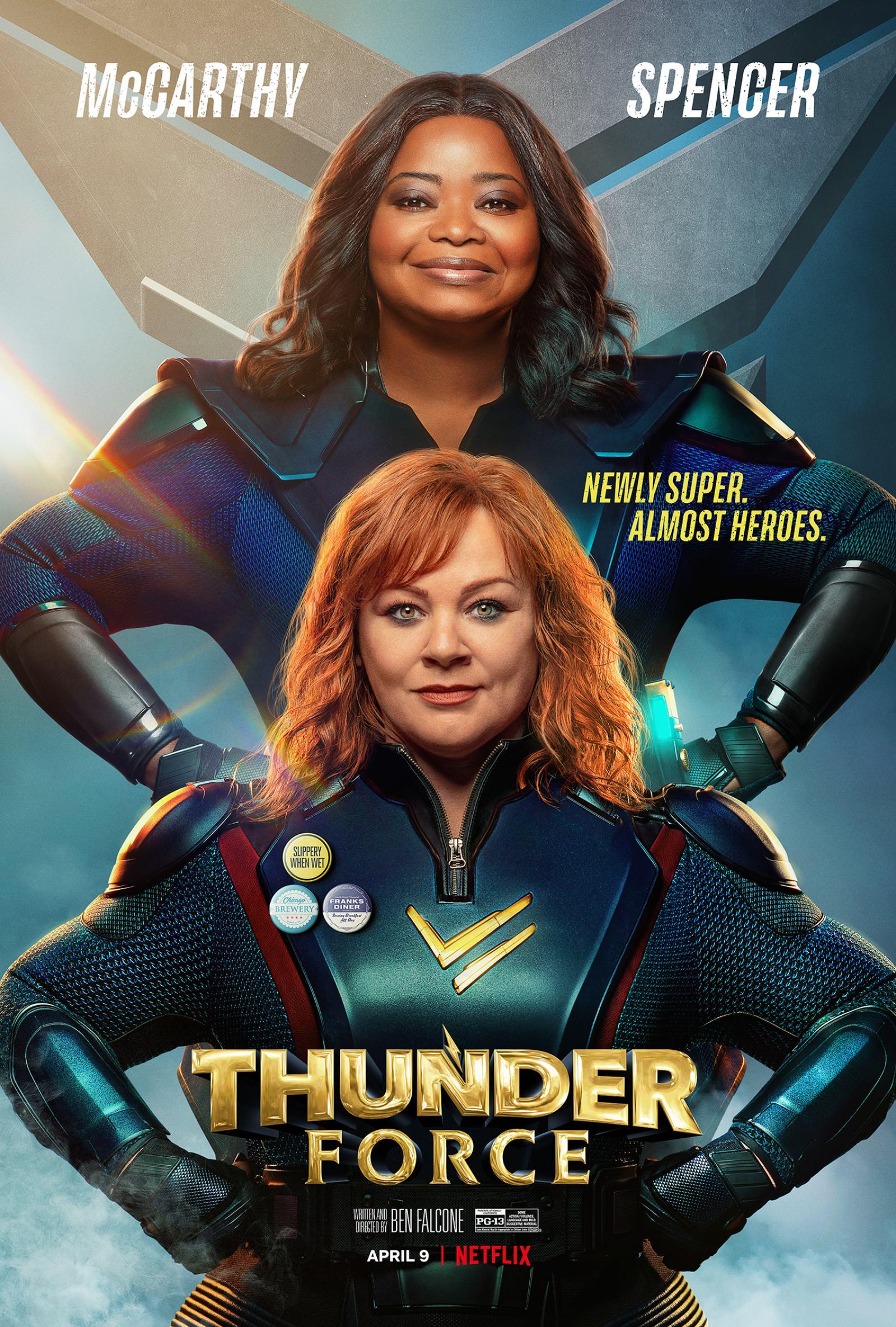 Thunder Force Poster #1
