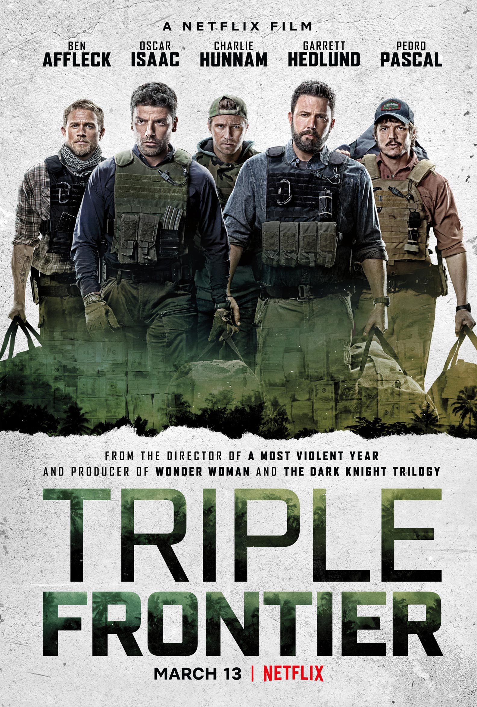 Triple Frontier Poster #1