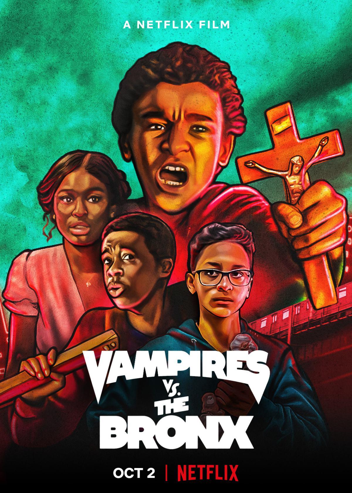Vampires vs. the Bronx Poster #1