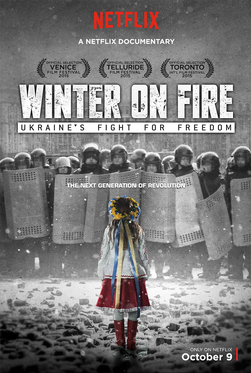 Winter on Fire Poster #1