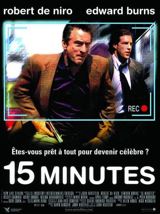 15 Minutes Poster #2
