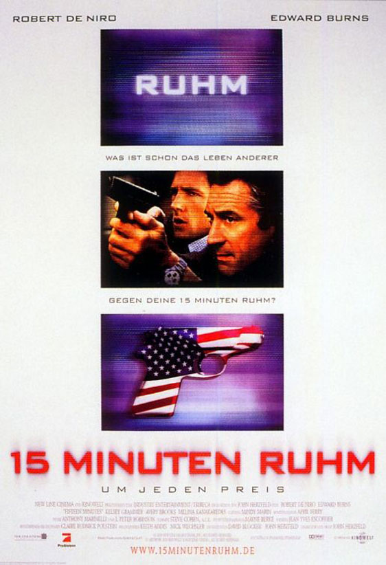 15 Minutes Poster #3