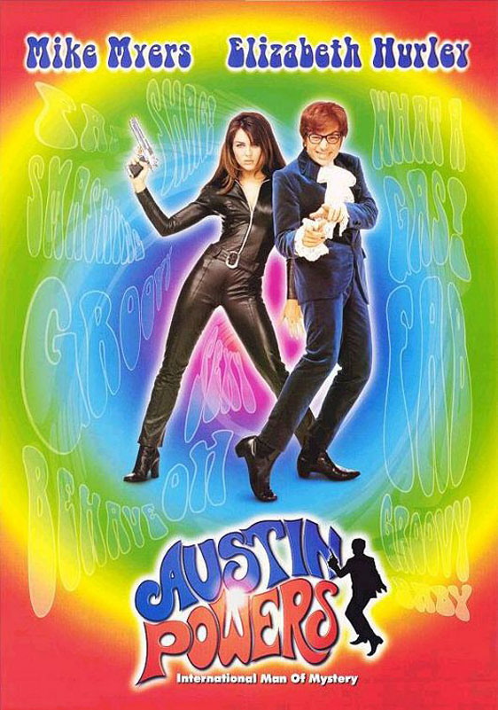 Austin Powers: International Man of Mystery Poster #2