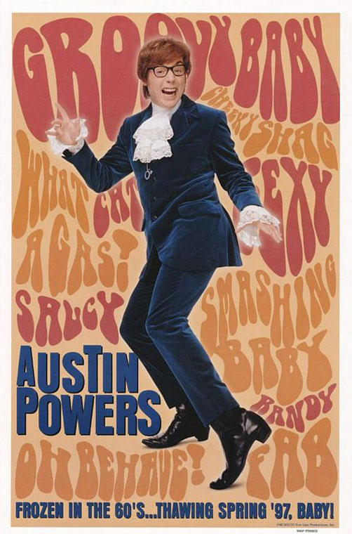Austin Powers: International Man of Mystery Poster #4