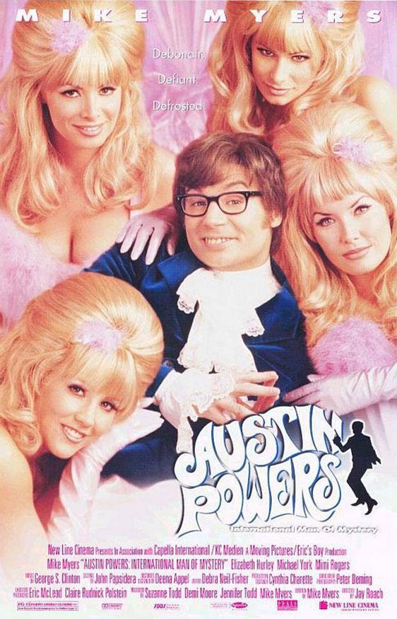 Austin Powers: International Man of Mystery Poster #1