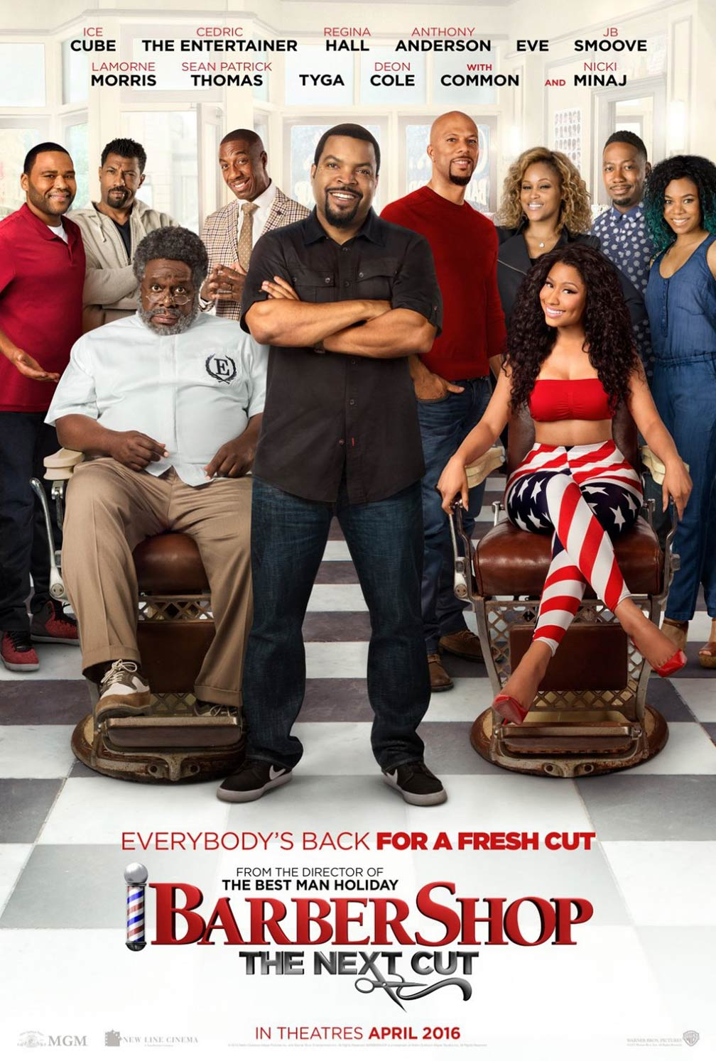 Barbershop: The Next Cut Poster #1