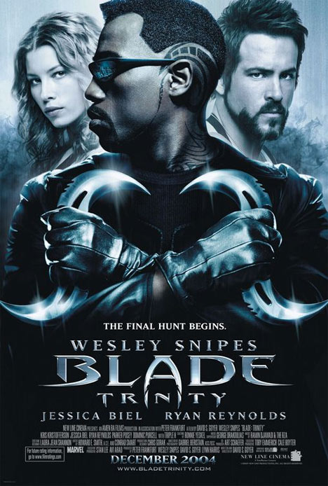 Blade: Trinity Poster #1