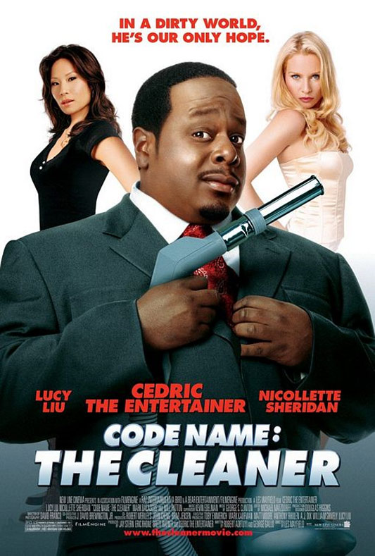Code Name: The Cleaner Poster #1