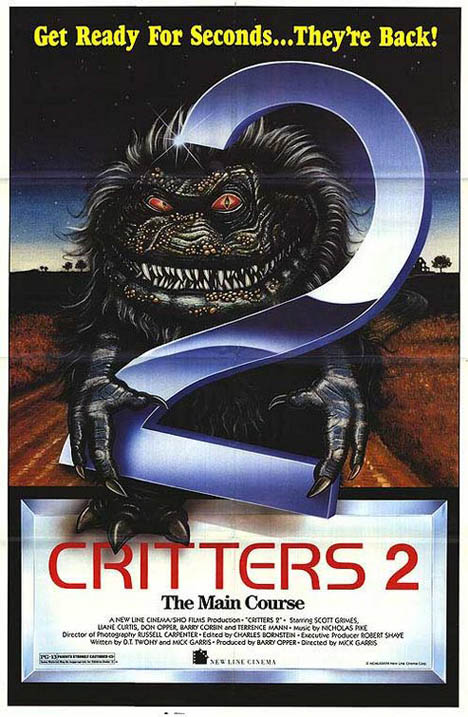 Critters 2: The Main Course Poster #1