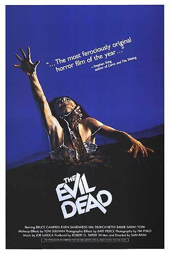 The Evil Dead Poster #1