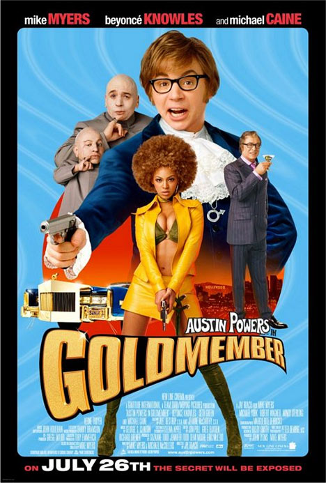Austin Powers in Goldmember Poster #1
