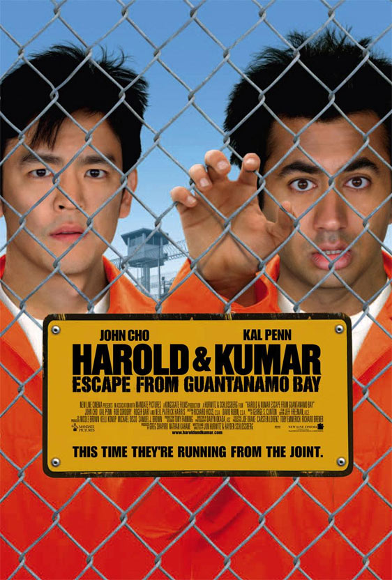 Harold & Kumar Escape from Guantanamo Bay Poster #3