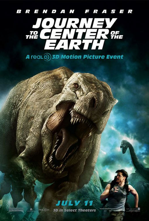 Journey to the Center of the Earth 3D Poster #3