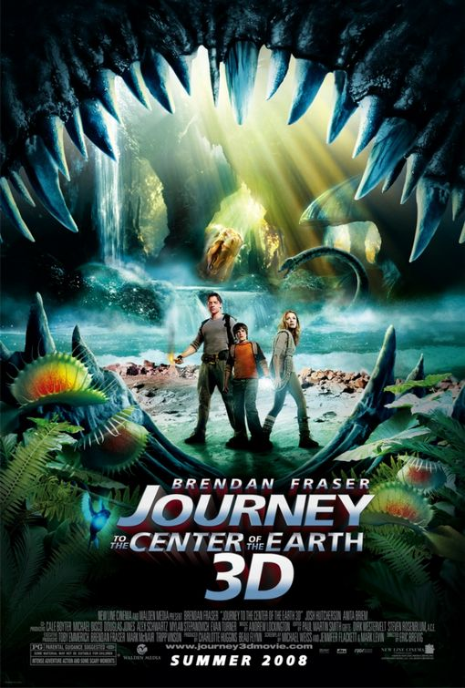 Journey to the Center of the Earth 3D Poster #1