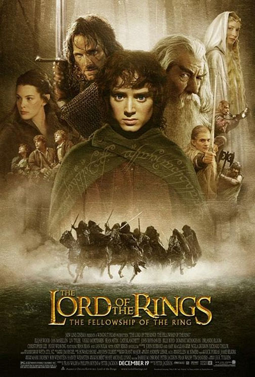 The Lord of the Rings: Fellowship of the Ring Poster #1