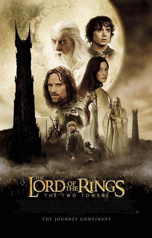 The Lord of the Rings: The Two Towers Poster #1