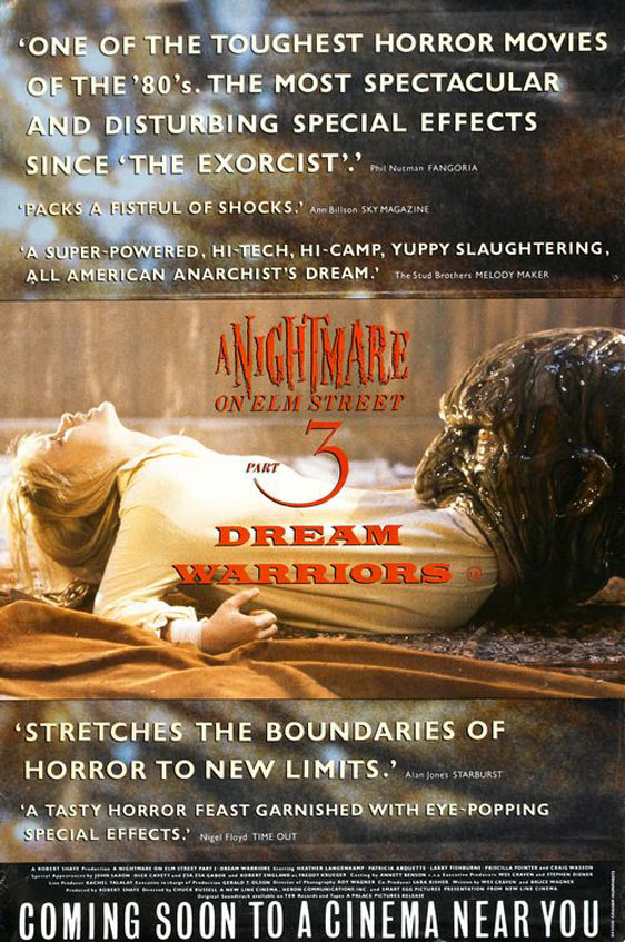 A Nightmare on Elm Street 3: Dream Warriors Poster #2