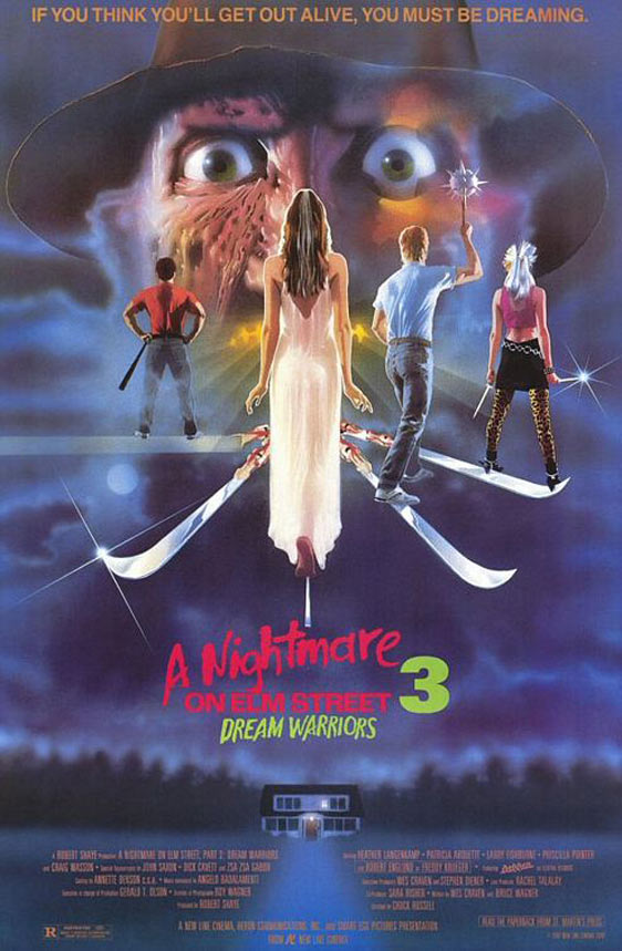 A Nightmare on Elm Street 3: Dream Warriors Poster #1