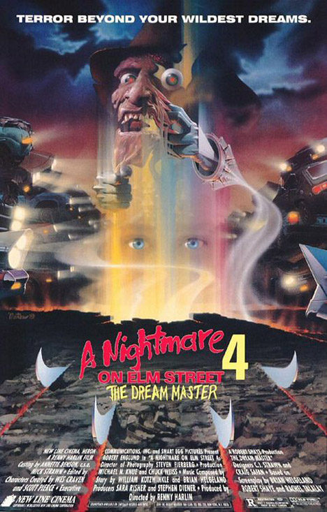 A Nightmare On Elm Street 4: The Dream Master Poster #1