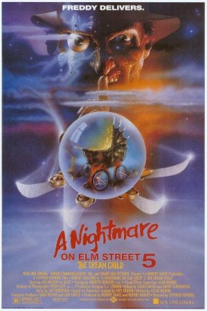 A Nightmare On Elm Street 5: The Dream Child Poster #1