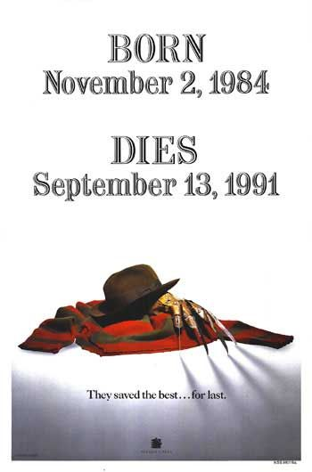 Freddy's Dead: The Final Nightmare Poster #1