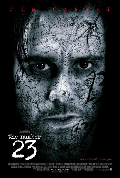 The Number 23 Poster #1