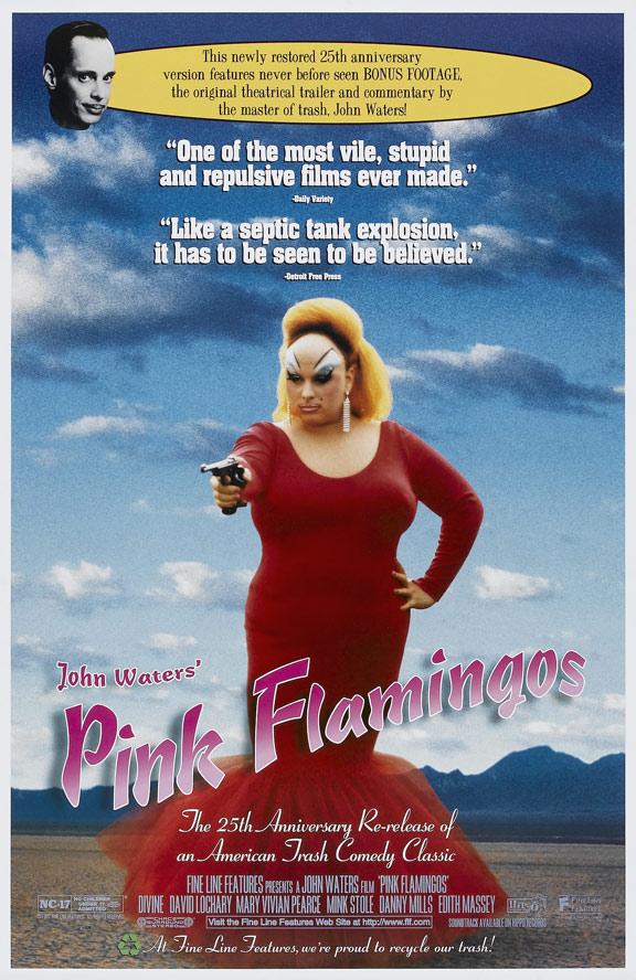 Pink Flamingos Poster #1