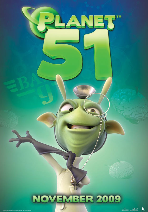 Planet 51 Poster #10