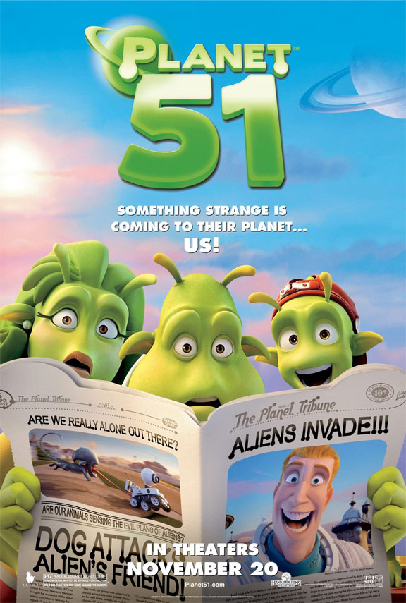 Planet 51 Poster #5